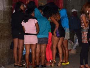 prostituées au travail